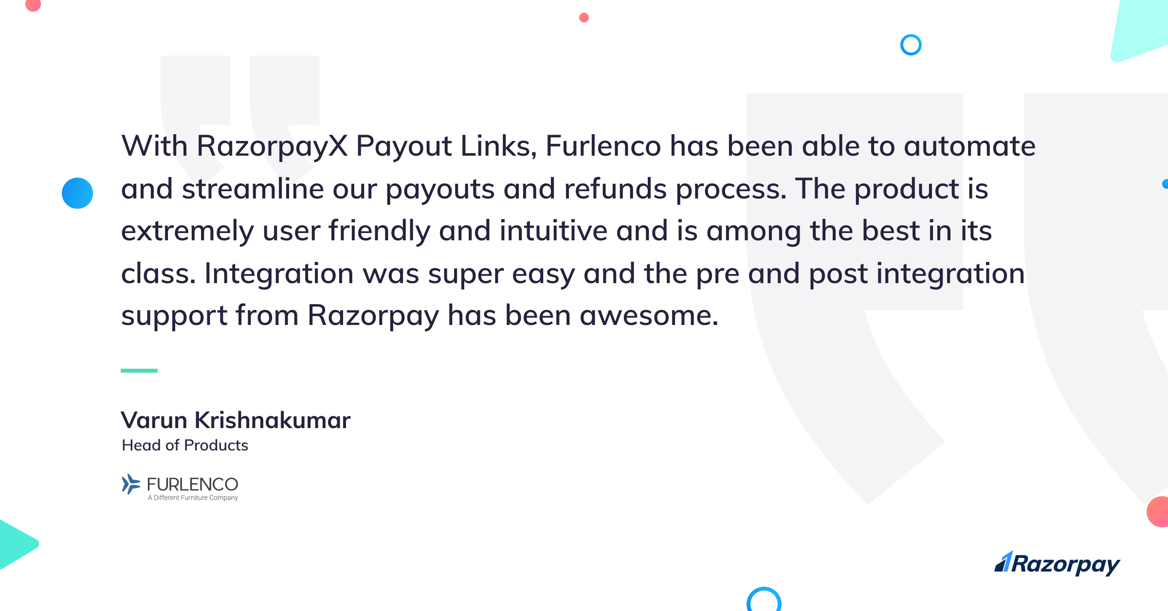 payout links ecommerce cod refunds